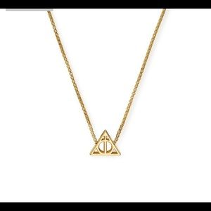Alex & Ani 14kt Deathly Hallows Necklace